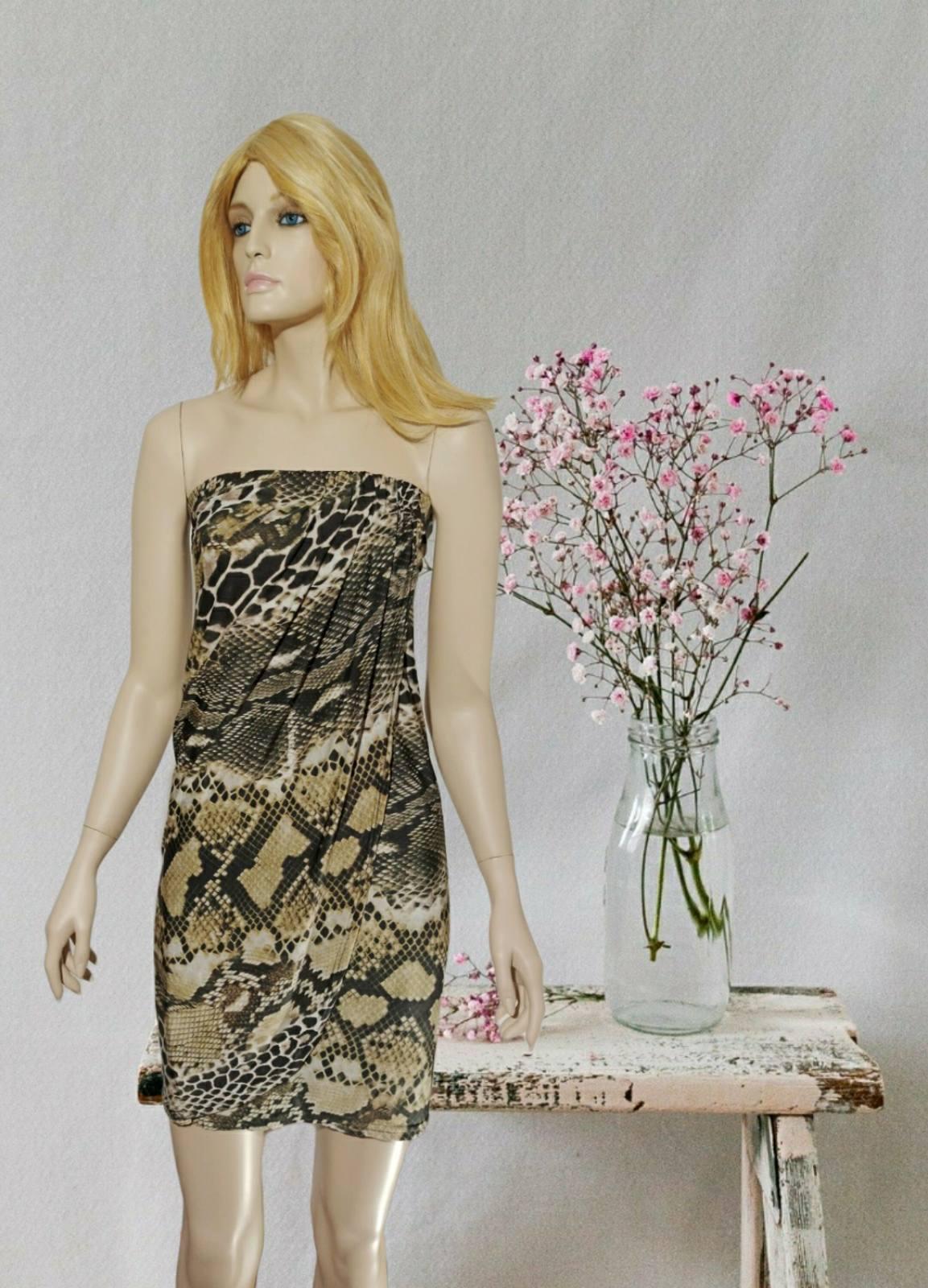 Midi Snake Dress