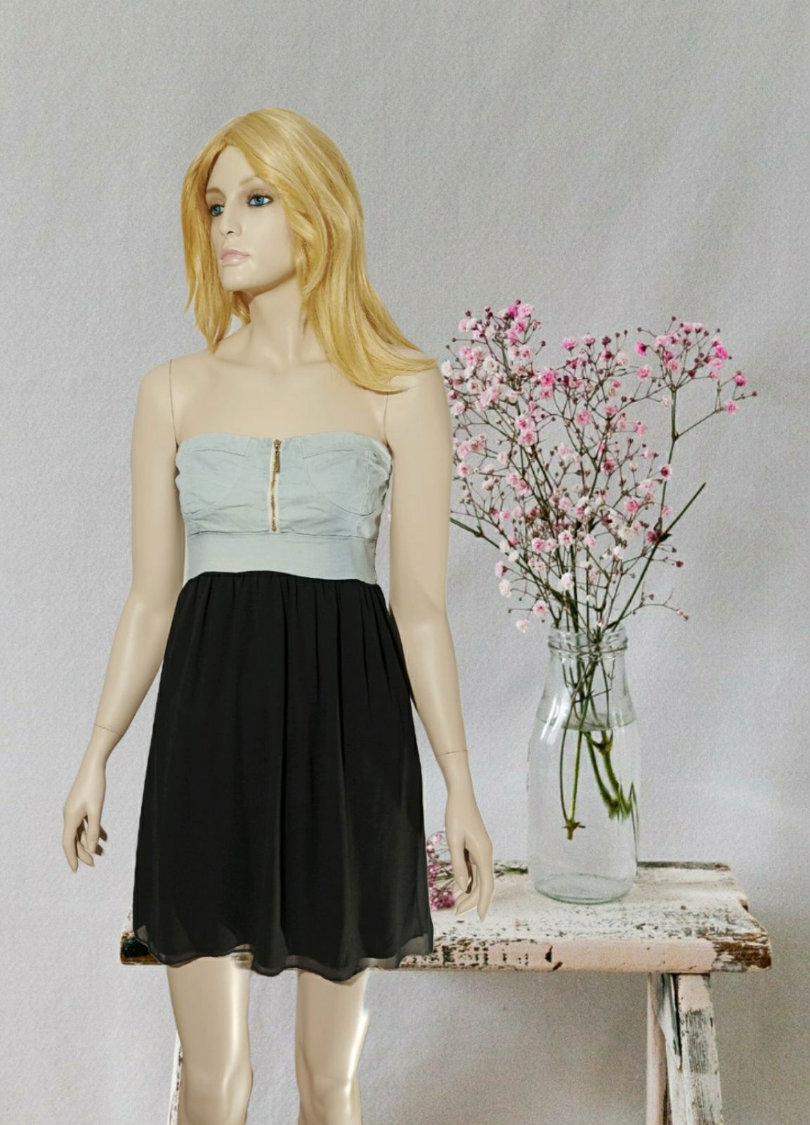 Mini Strapless Dress
