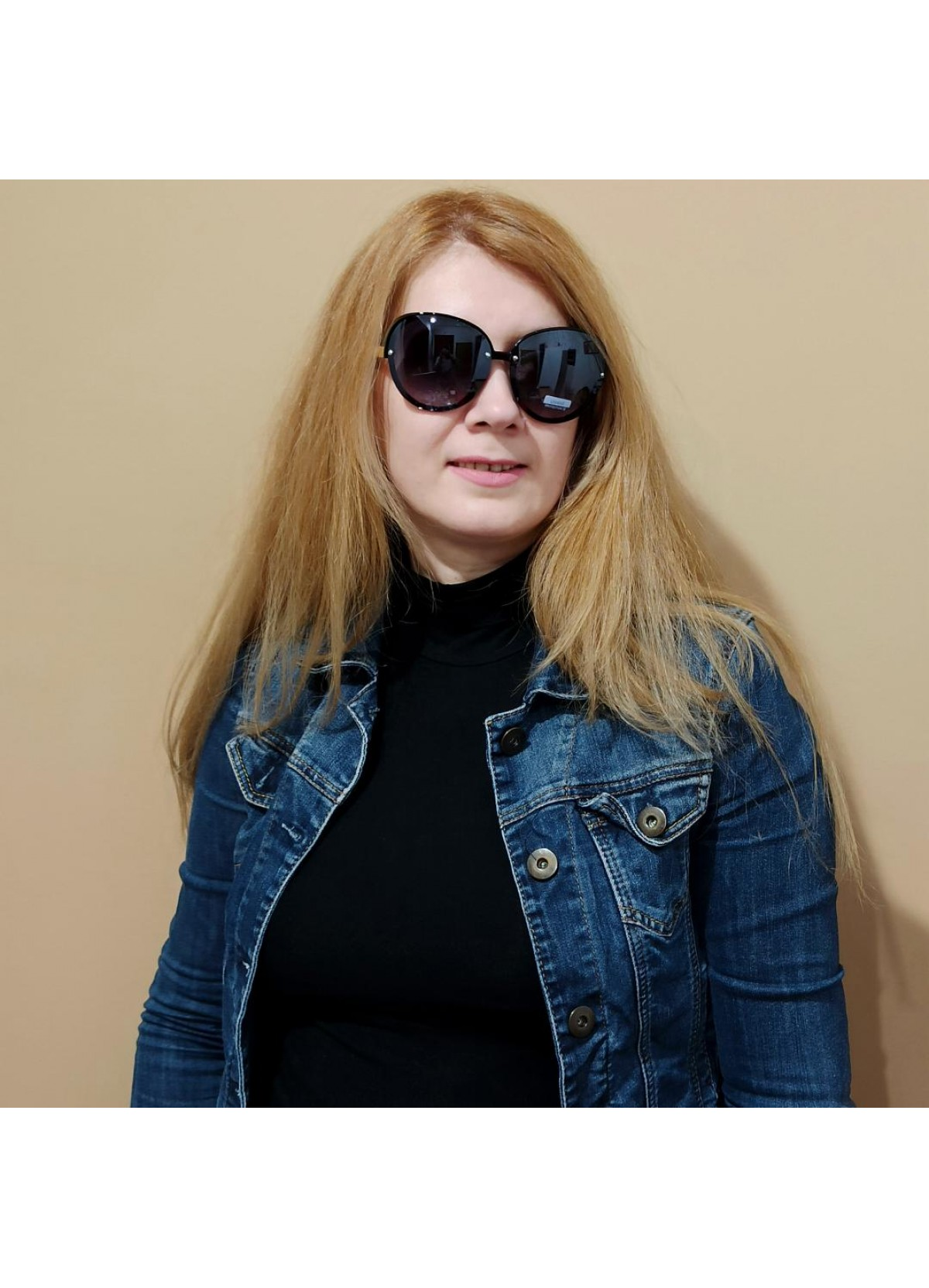 Sun Glass Black Fashion