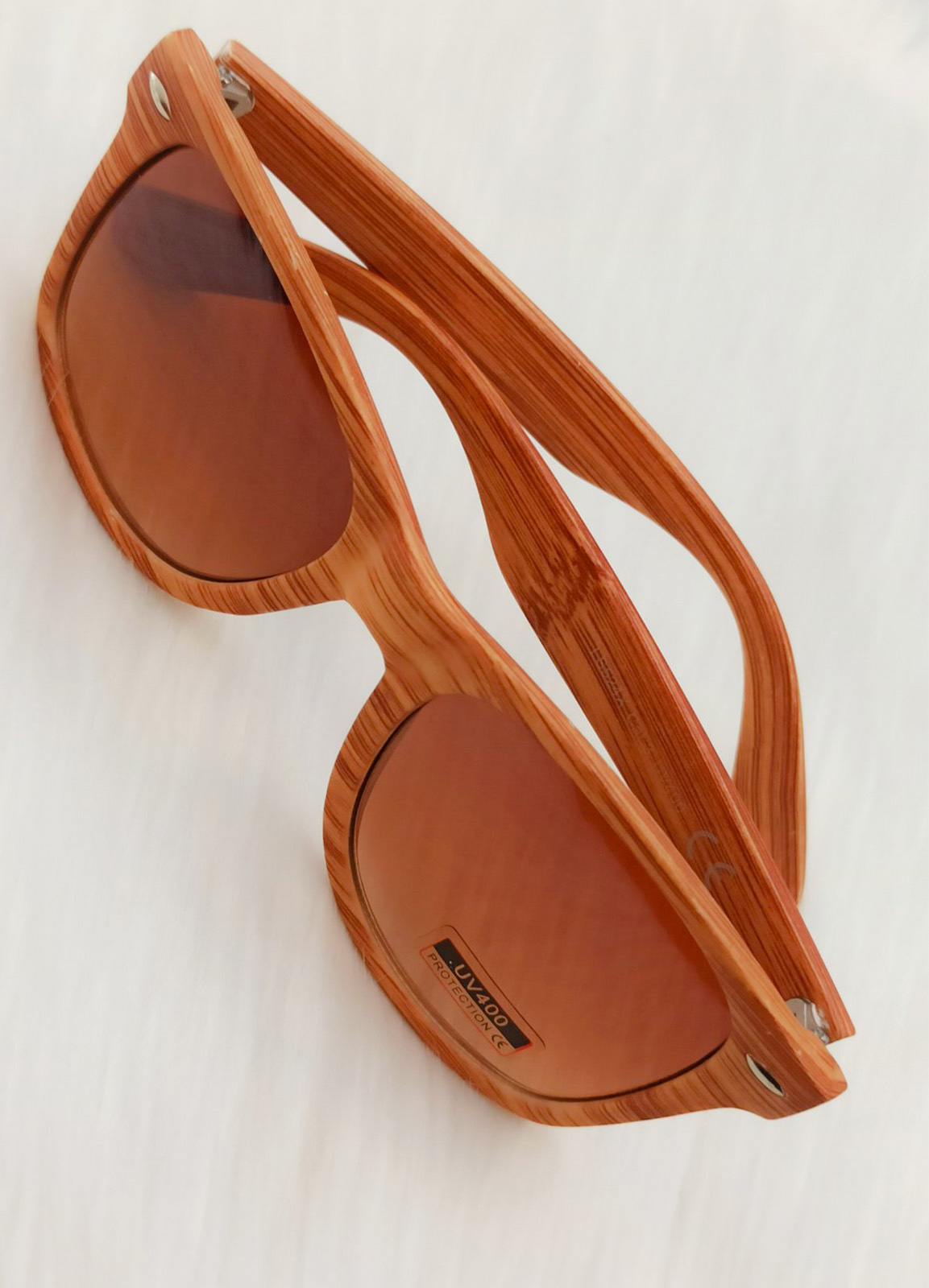 Sun Glass Beige Wood