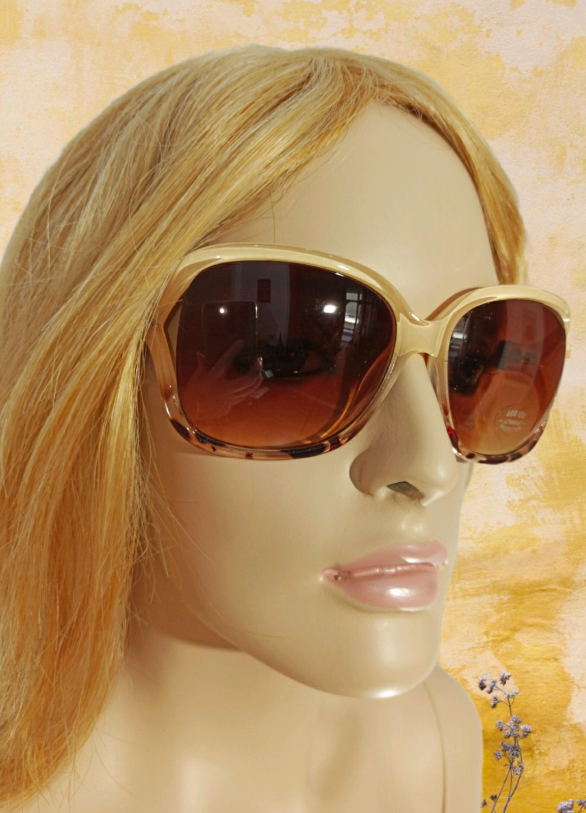 Sun Glass Animal Print A