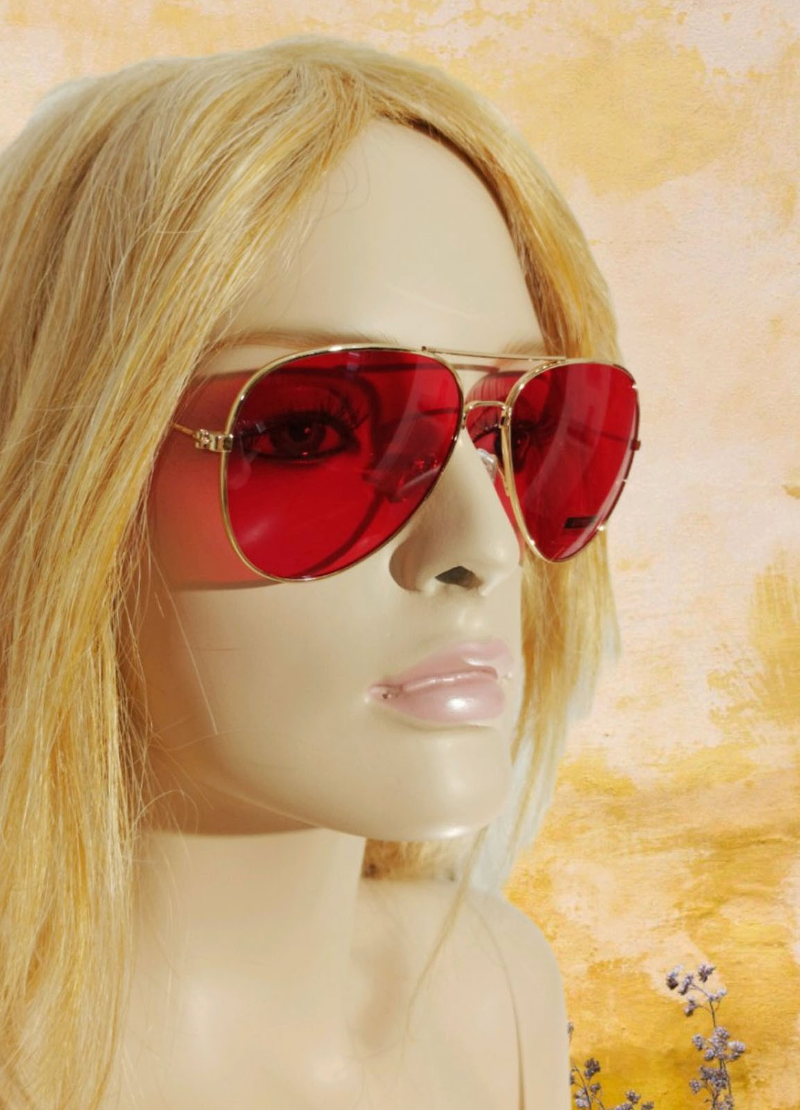 Sun Glass Red