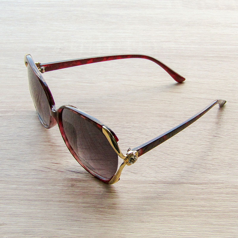 Sun Glass Diamond Gold