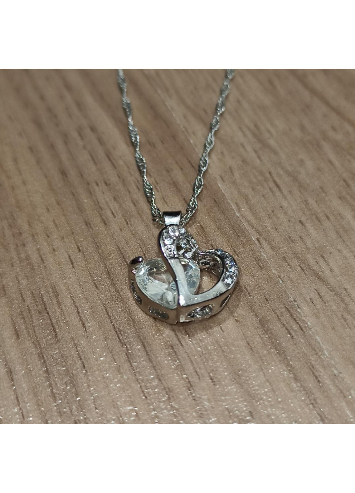 Diamond Jewelry White Necklace