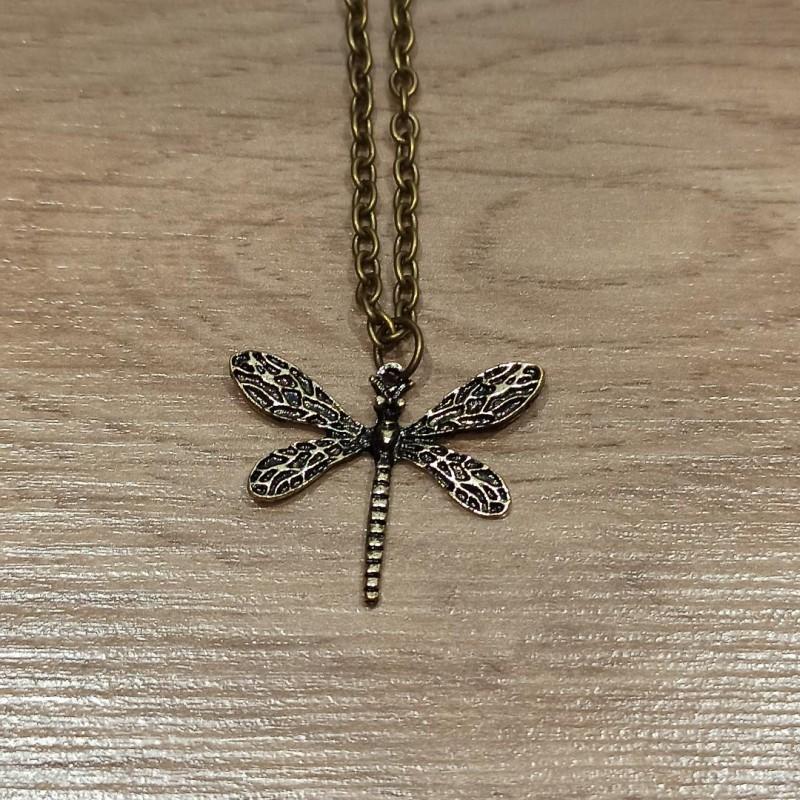 Necklace Dragonfly Vintage