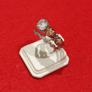 Ring Double Rose S