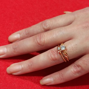 Double Rose Ring