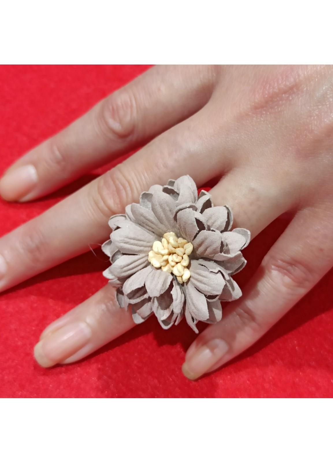 Dahlia flower Ring