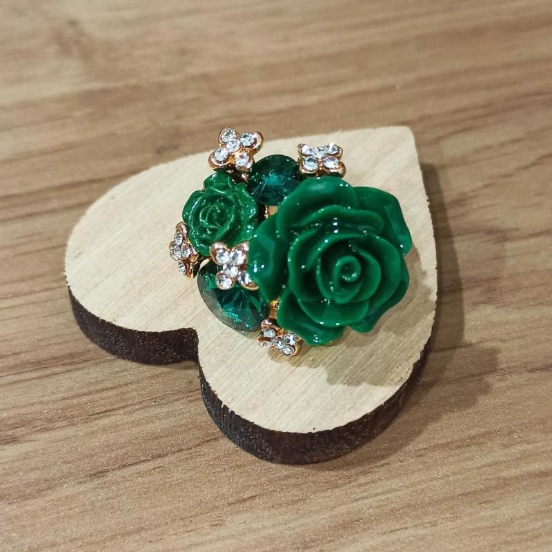 green Rose Ring