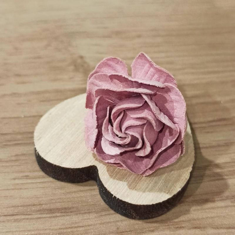 Puce Ring Rose