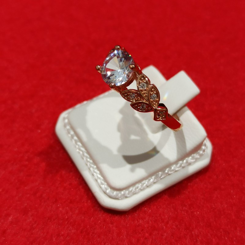 Silver 925 Romantic Flower Ring