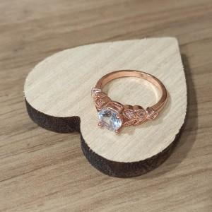 Silver 925 Romantic Flower Ring