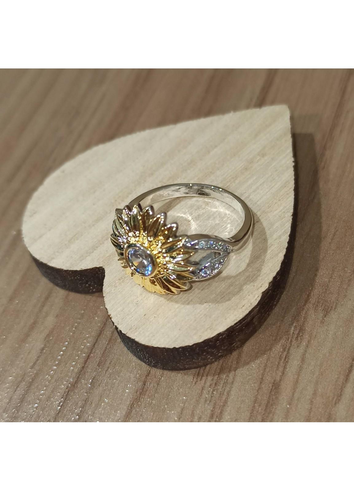 925 Silver Flower Ring