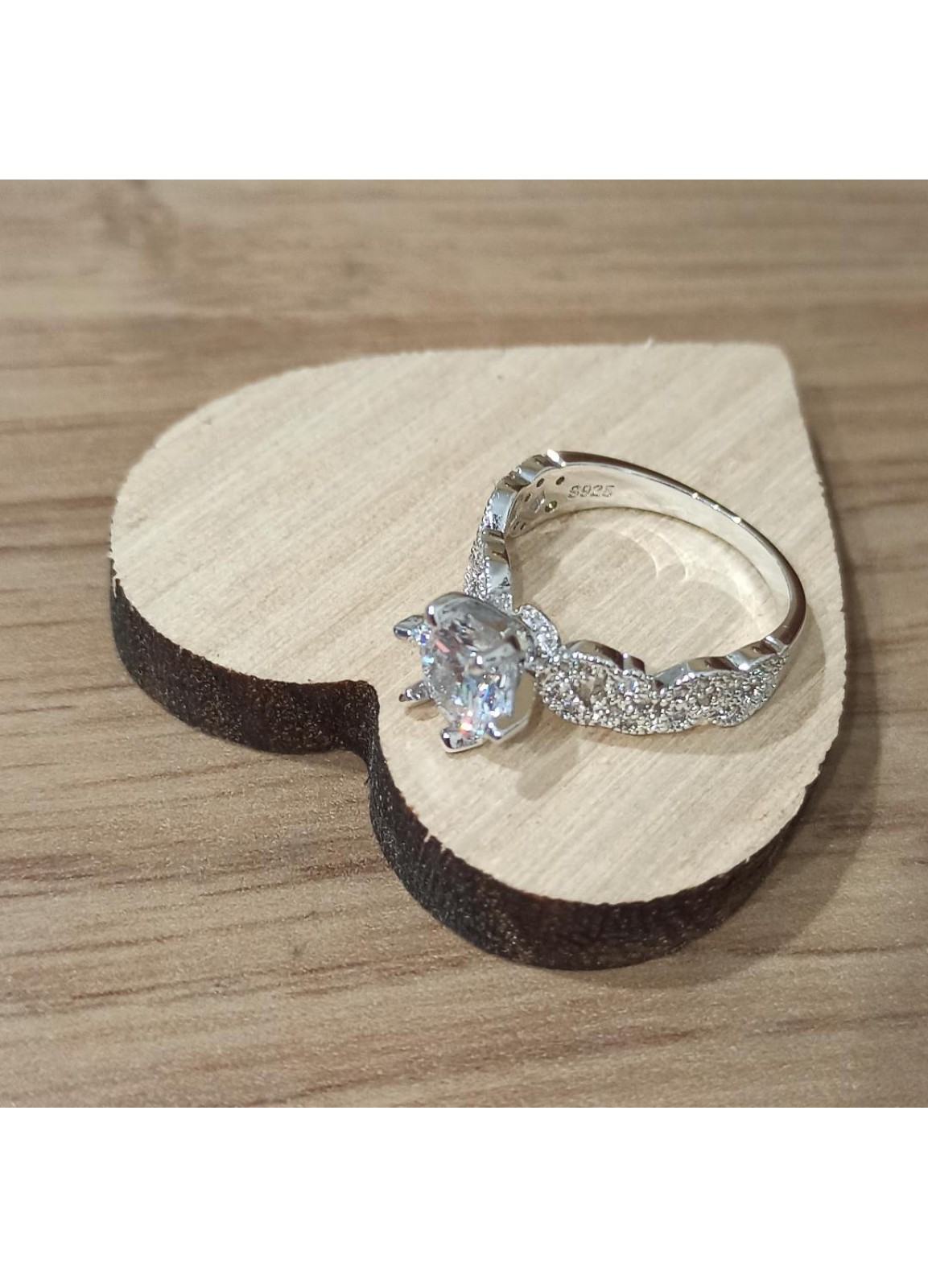 925 Silver Olive Ring