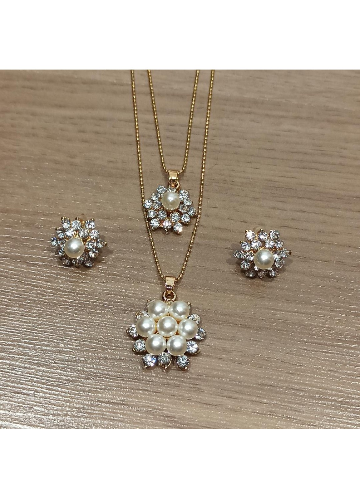 Set Double Pearl