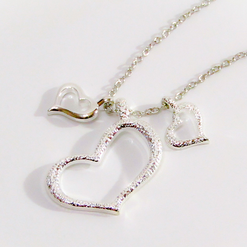 Necklace hearts S