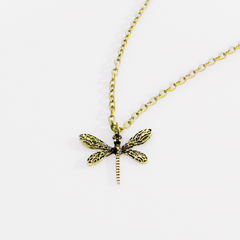 Necklace Dragonfly Vintage