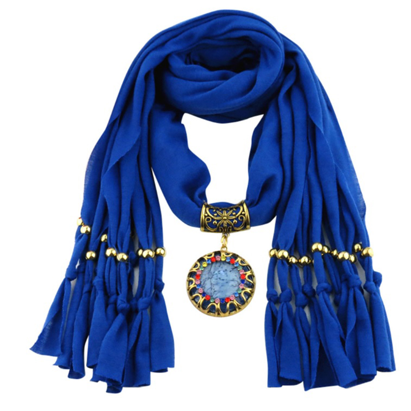 Lady Blue Scarf