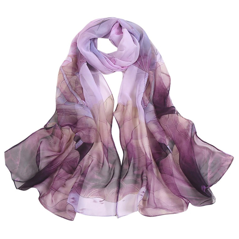 Purple Spring Scarf
