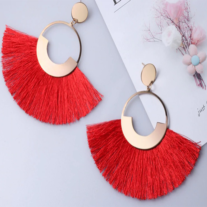 Red Style earrings